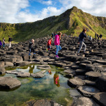 Giants Causeway, County Antrim, Northern Ireland.